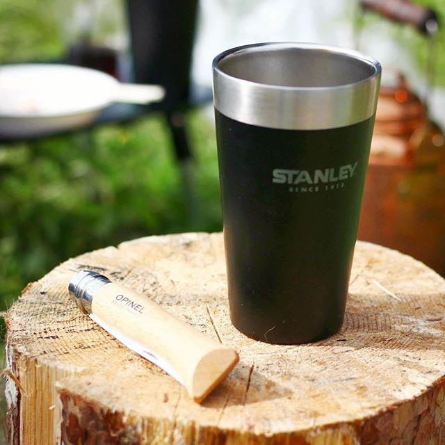 pic.610月13-14日粕川オートキャンプ場男3人キャンプスタンレーのマグカップを借りたけど本当に保温性抜群!!これでビール飲みたいオピネル# 9もなかなかの使い心地でした。木とブレードのスキマがきついから今度外してヤスリがけする予定です!#キャンプ #キャンプギア #キャンプ好きな人と繋がりたい #秋キャンプ #レザクト #leathact #アウトドア #アウトドアギア #アウトドア用品 #アウトドアライフ #stanleycup #stanley #スタンレー #スタンレータンブラー #オピネル #オピネルナイフ #オピネル9